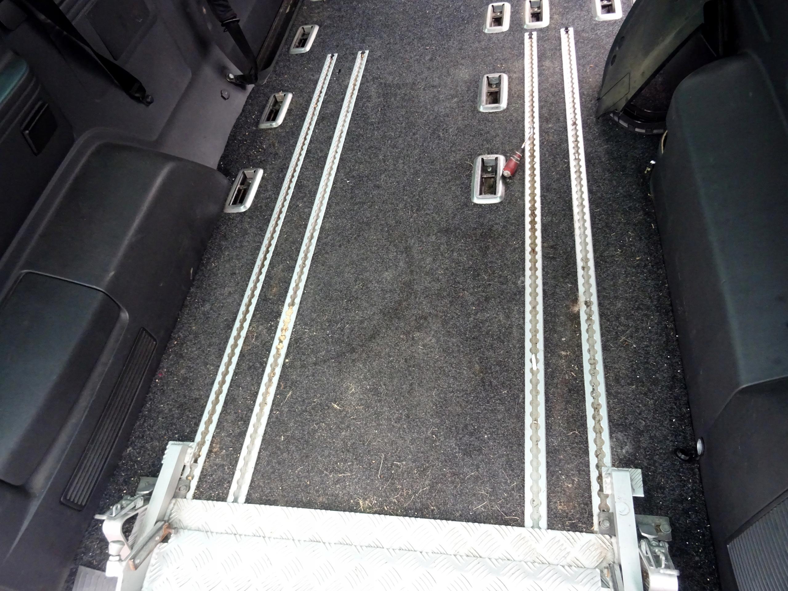 пол ковровое крепления vw t5 caravelle long