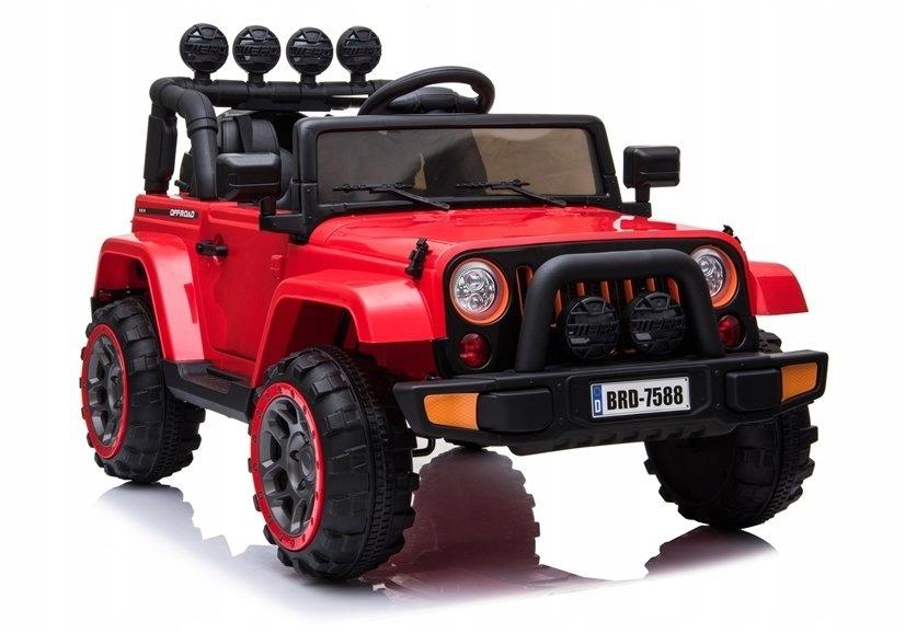 Игрушечная машинка с аккумулятором Jeep car Pilot Leather Eva