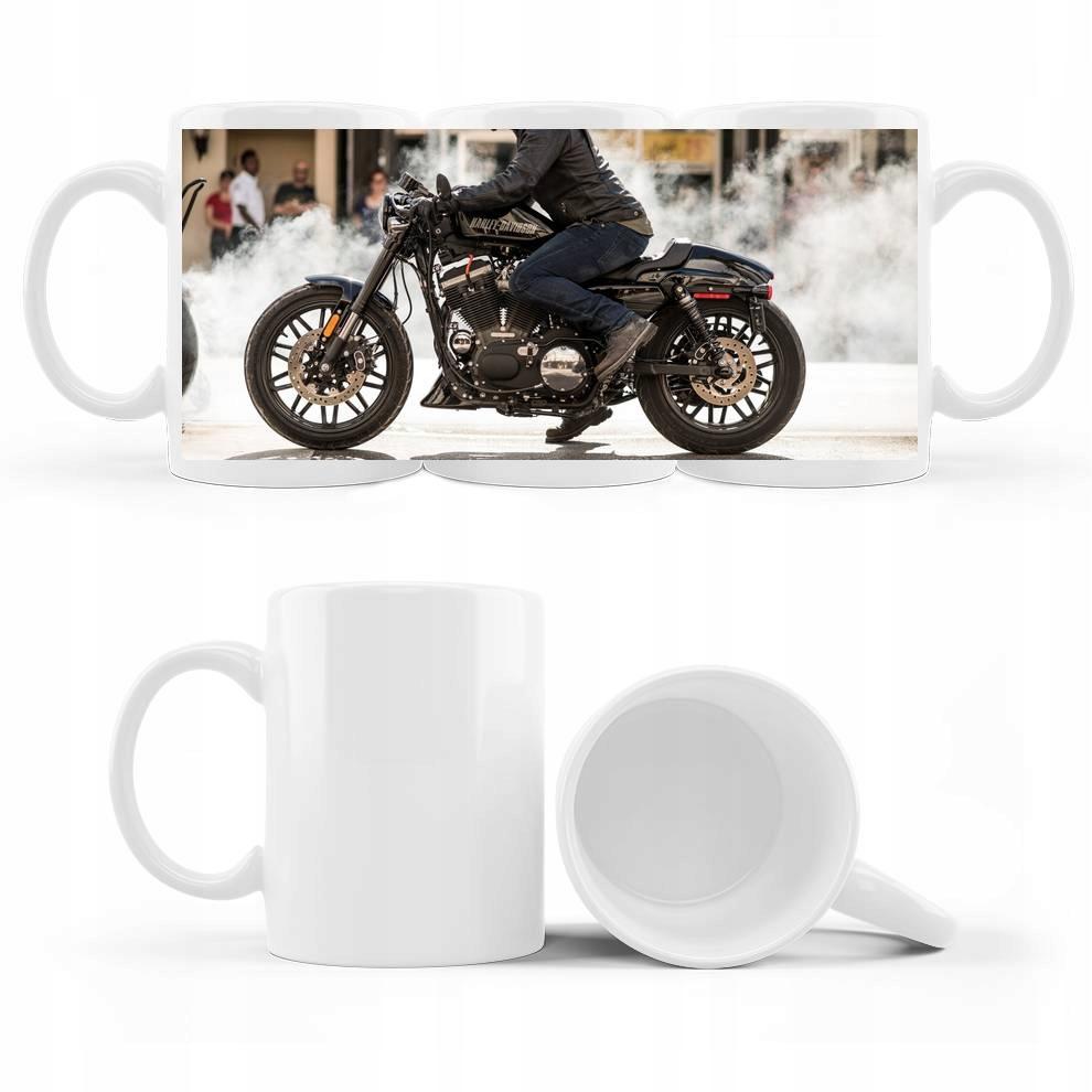 Kubek ze zdjęciem Harley Davidson Motocykl