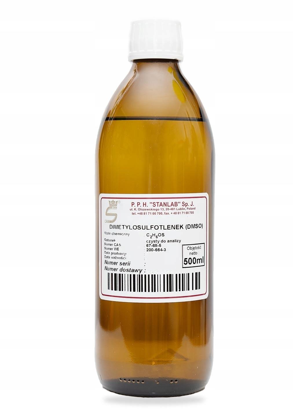 DMSO Dimetylosulfotlenek Stanlab CZDA 500ml
