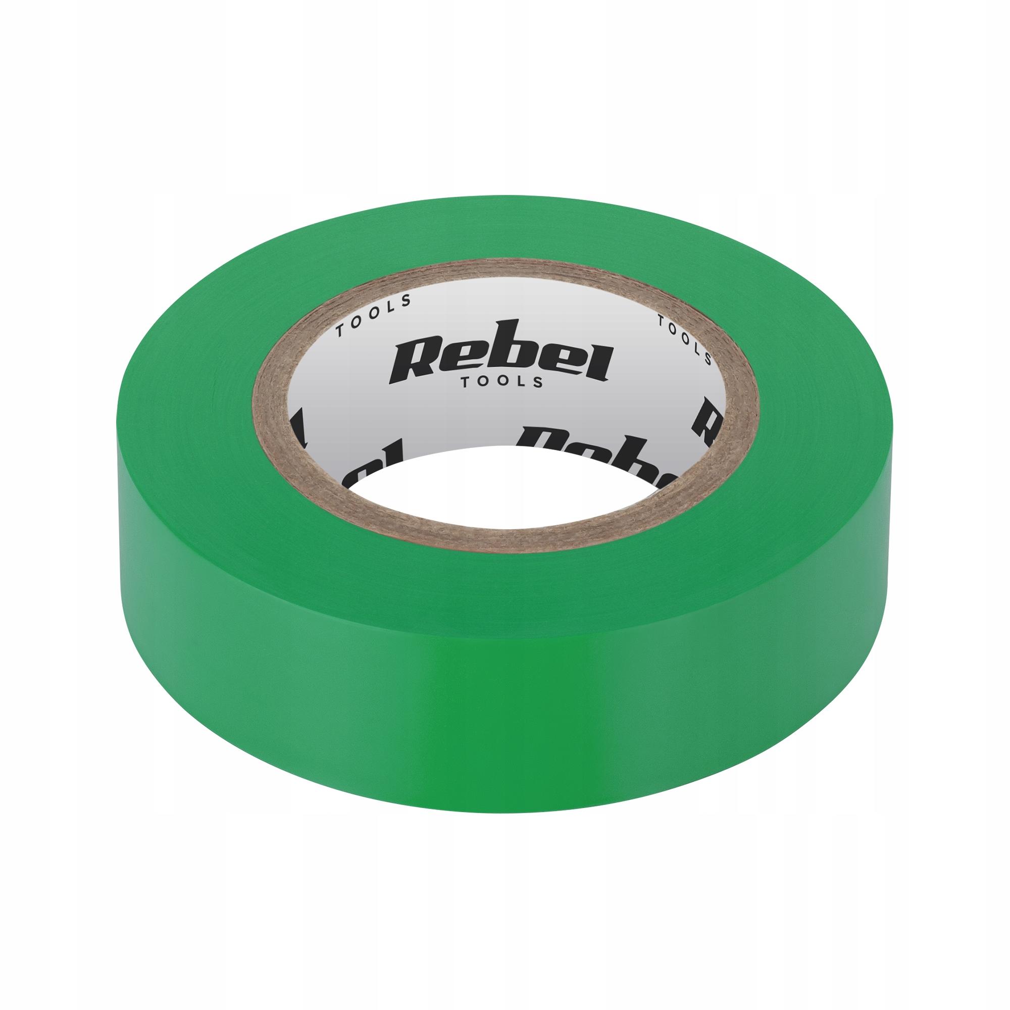 Зеленая клейкая изоляционная лента REBEL