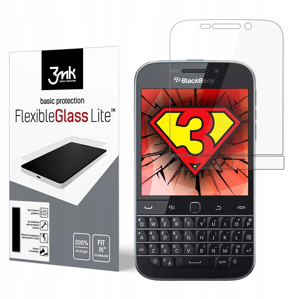 BlackBerry Classic Q20 - Szkło Hybrydowe 3mk Przód