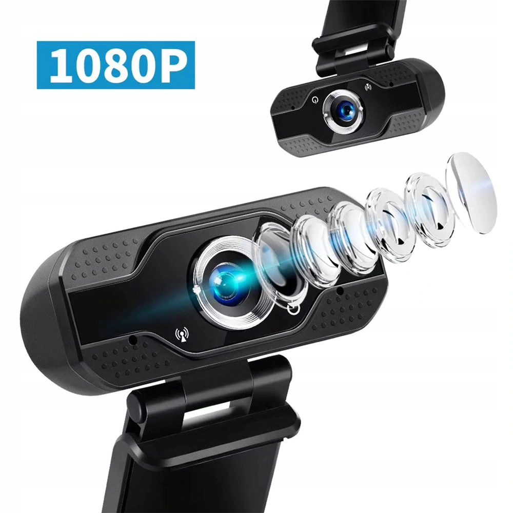 Kamerka Kamera INTERNETOWA FULL HD 1080P MIKROFON Megapiksele 2 MP