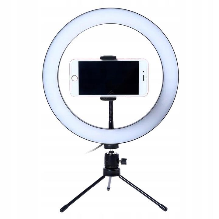 Купить LAMPA PIERŚCIENIOWA LED MAKIJAŻ RING PILOT MOCNA на Otpravka - цены и фото - доставка из Польши и стран Европы в Украину.