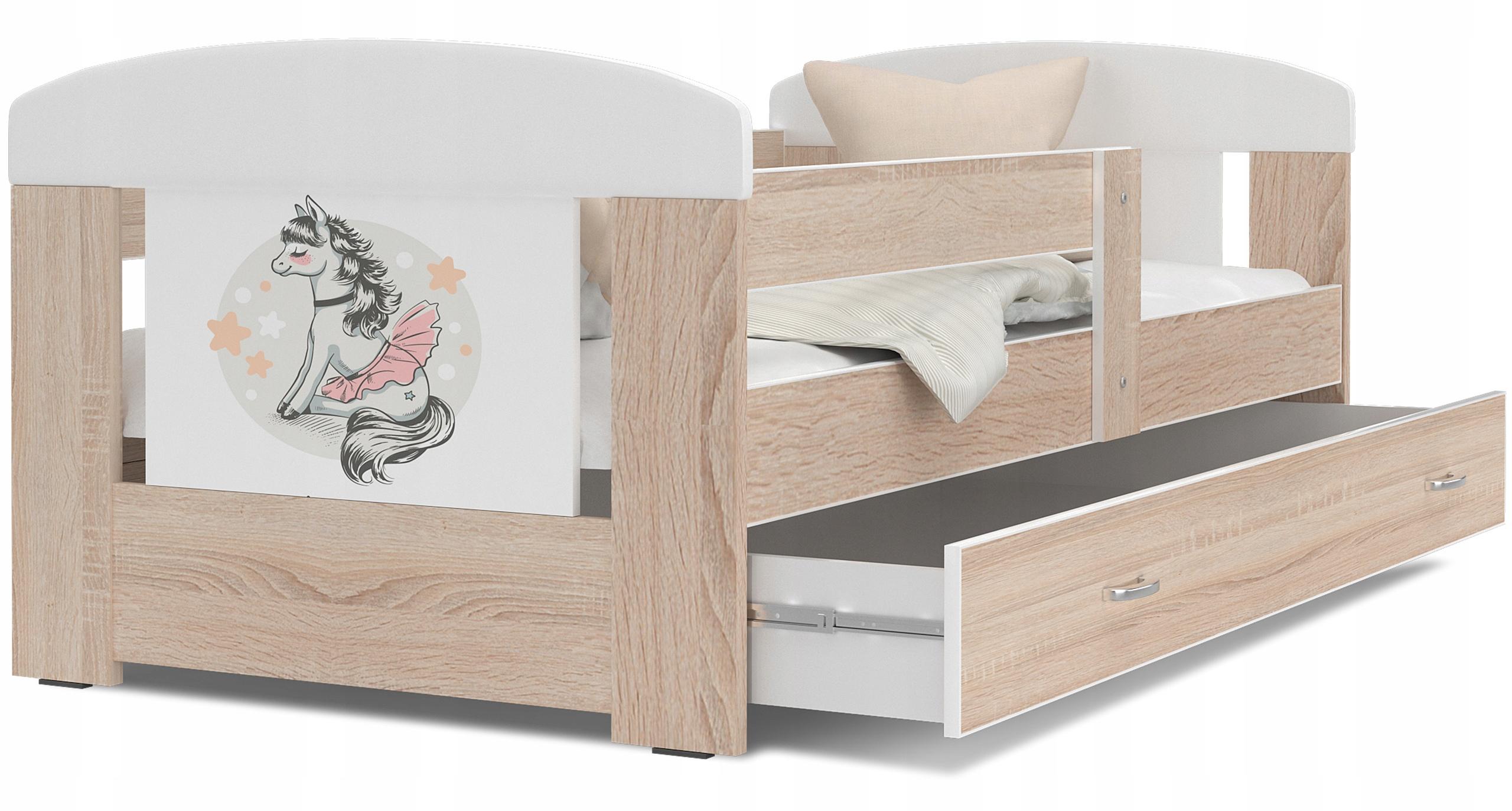 кровать ФИЛИПП COLOR 160x80 + ящик + матрас