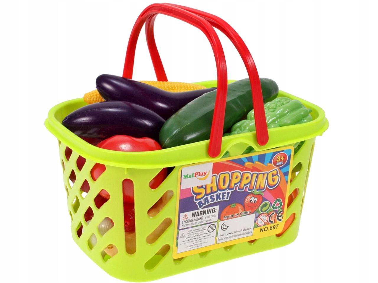 KOSZYK Piknikowy NA ZAKUPY WARZYWA OWOCE KUCHNIA Waga produktu z opakowaniem jednostkowym 0.4 kg