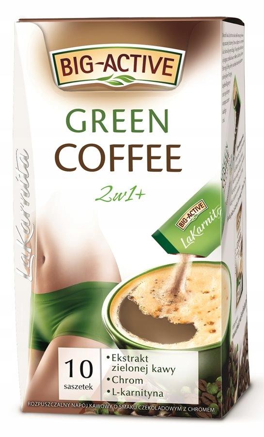BIG-ACTIVE Green Coffee 120g 2w1
