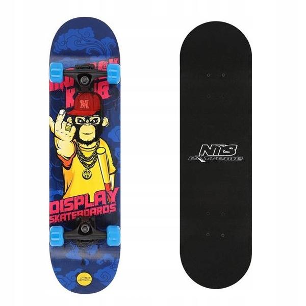 Klasický profilovaný skateboard pre deti