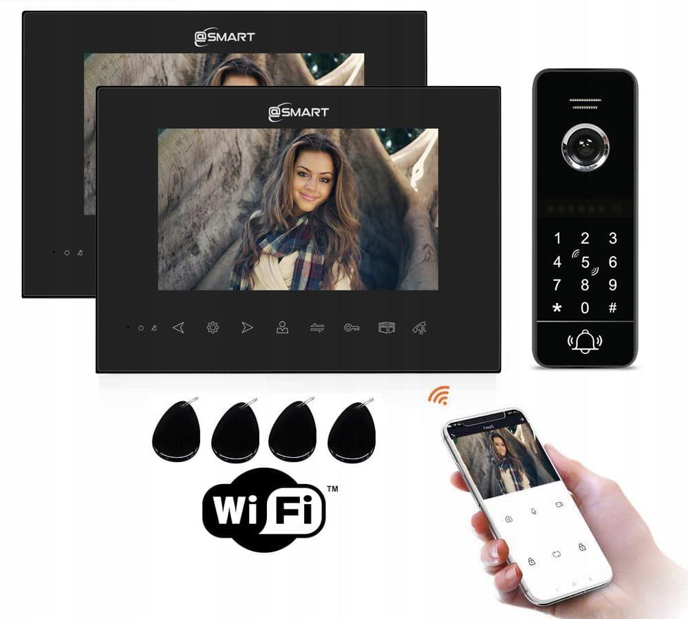 Wideodomofon IP DWA monitory APLIKACJA CZYTNIK KOD