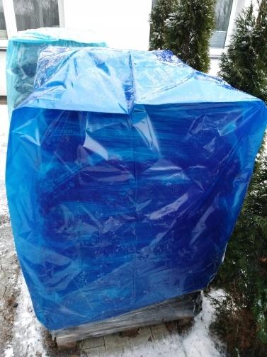 полиэтиленовый пакет для ящика-поддона 100 х 120 контейнер