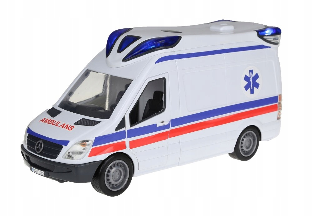 Rescue Light Sound DICKIE Ambulance VAN