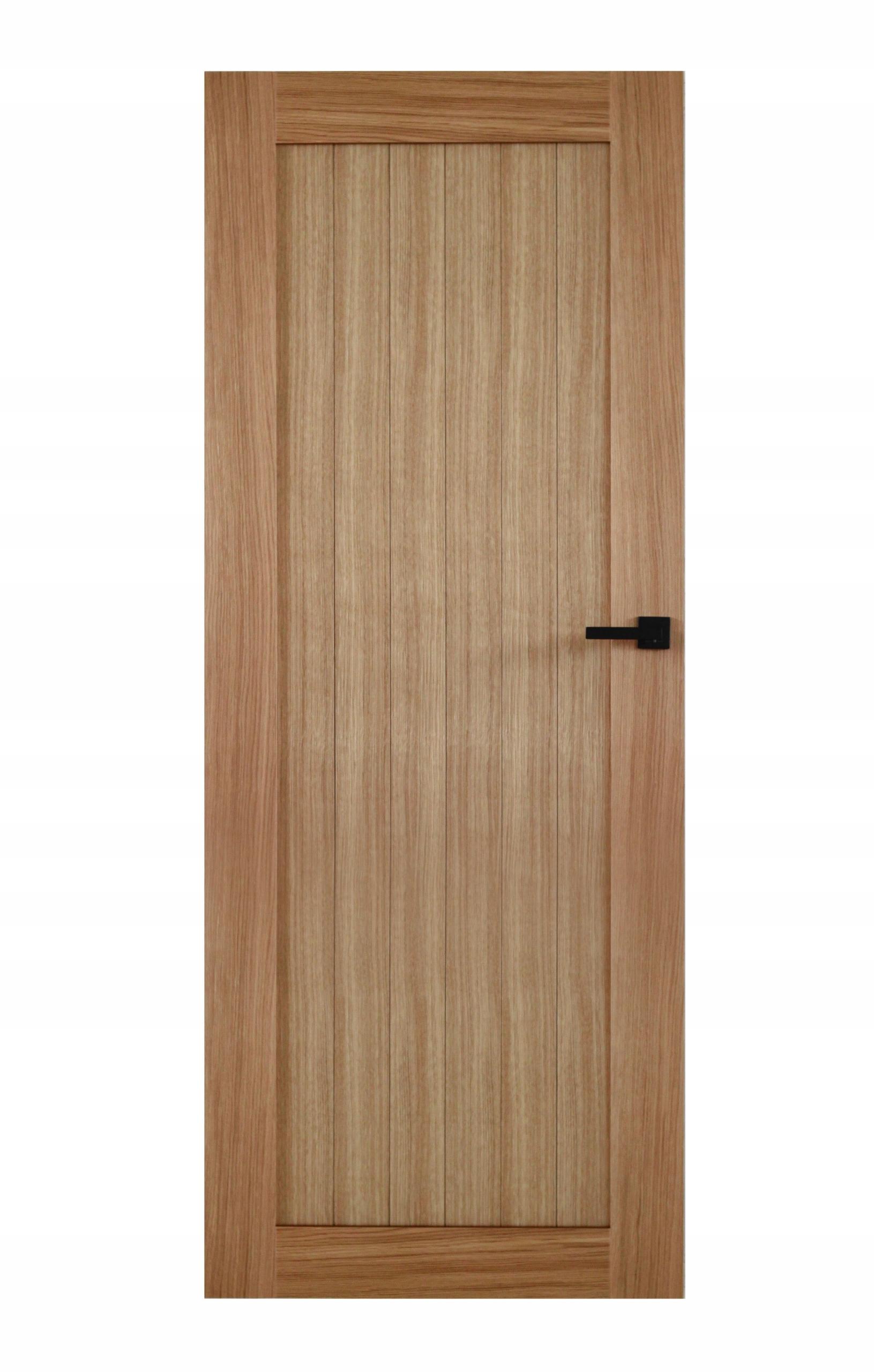 Drzwi Wewnętrzne Drewniane Ościeżnica Regulowana