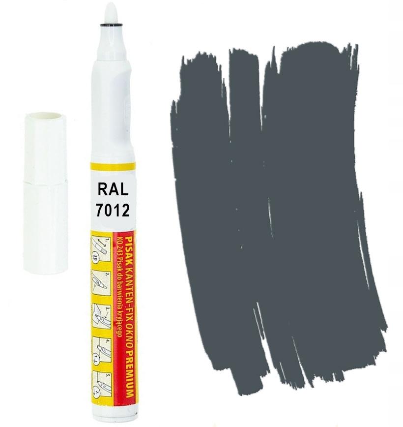 Canten FIX RAL 7012 Серый базальтовый маркер Retouch