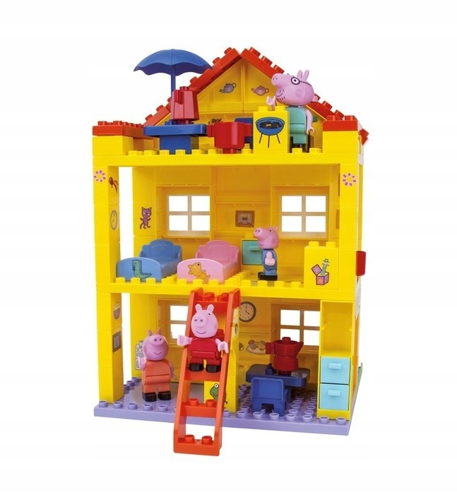 BIG Bloxx Blocks PIG PEPPA House Willa 107 Elem