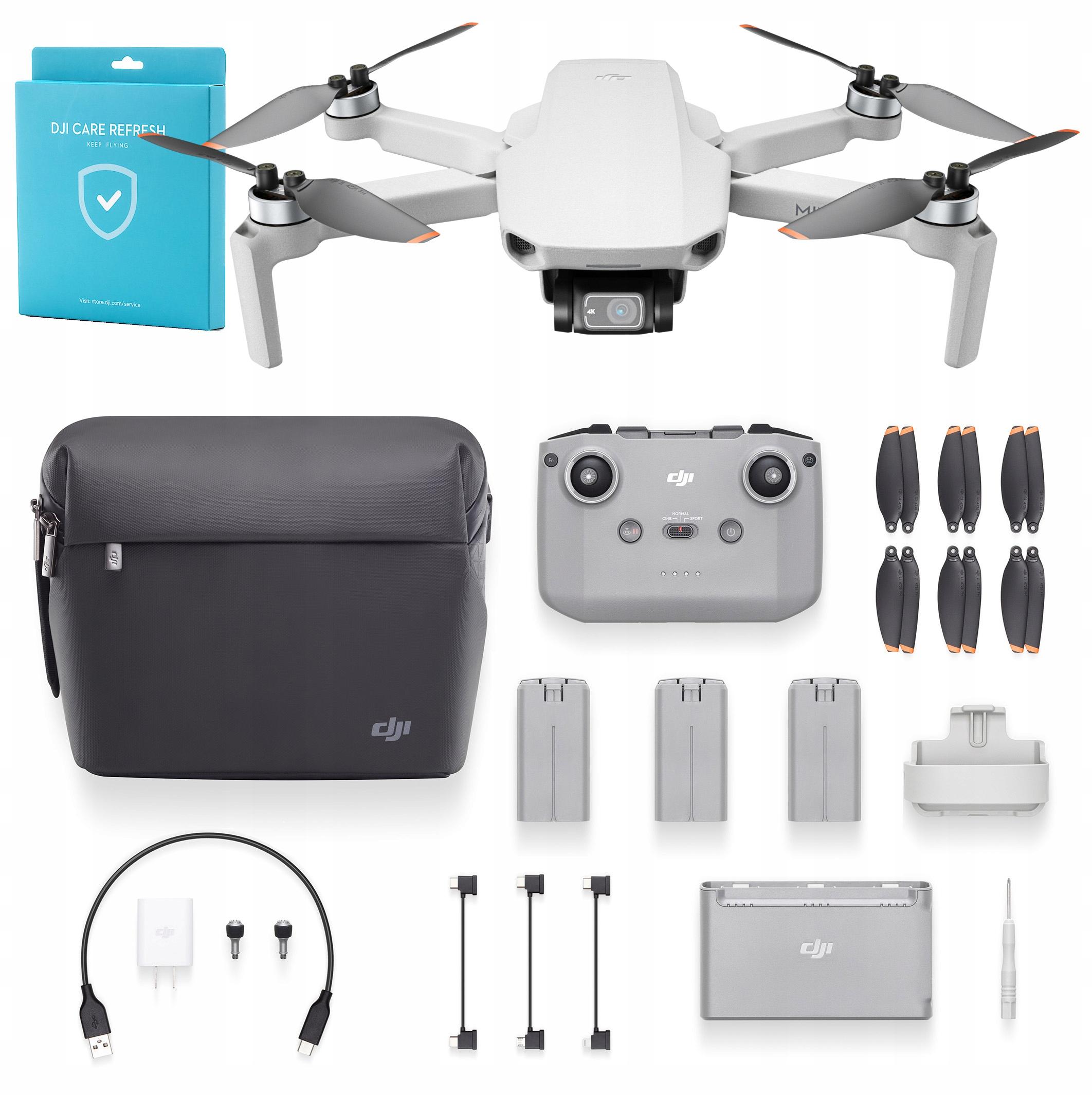 Zestaw dron DJI Mavic Mini 2 Combo + Ubezpieczenie