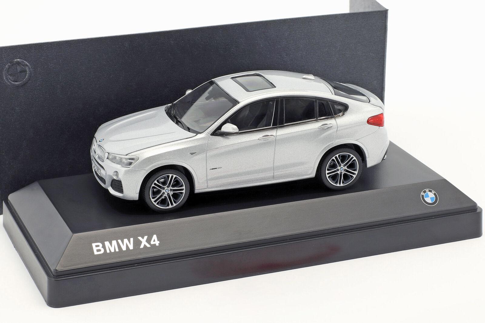 HERPA - BMW X4 (F26) СЕРЕБРЯНЫЙ 1:43