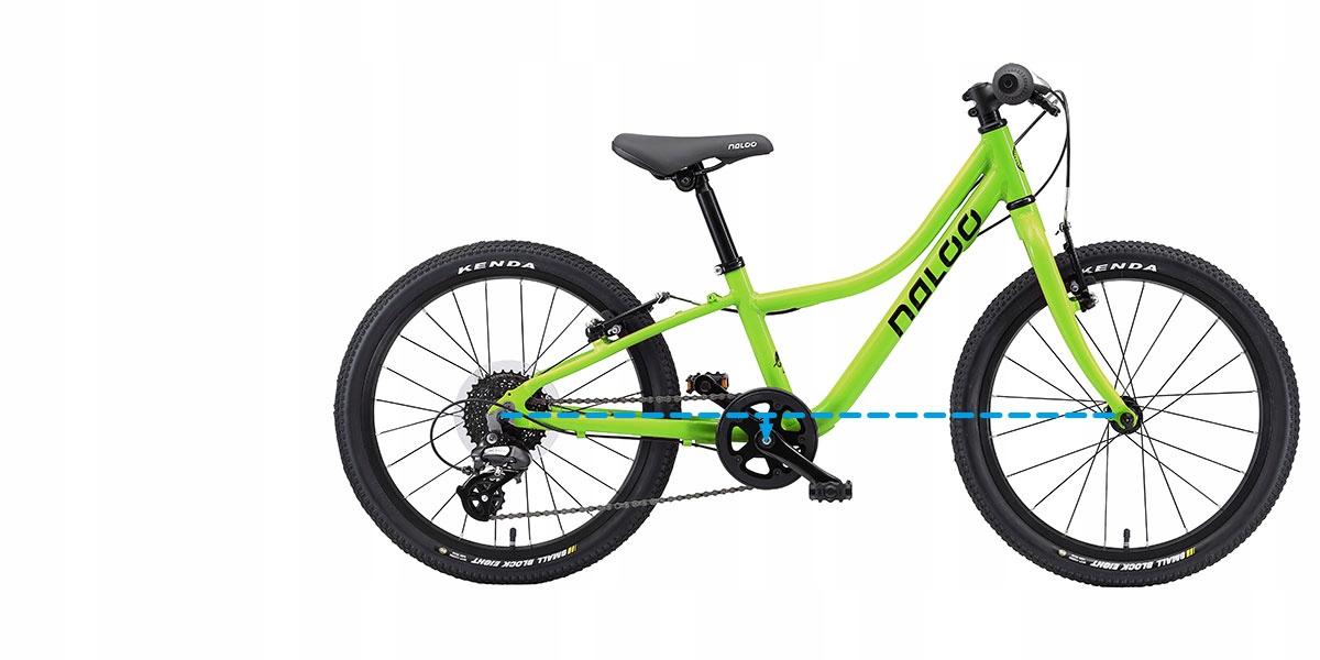"Rower NALOO BIKES KAMELEON 24"" Pomarańczowy Model Naloo Chameleon"