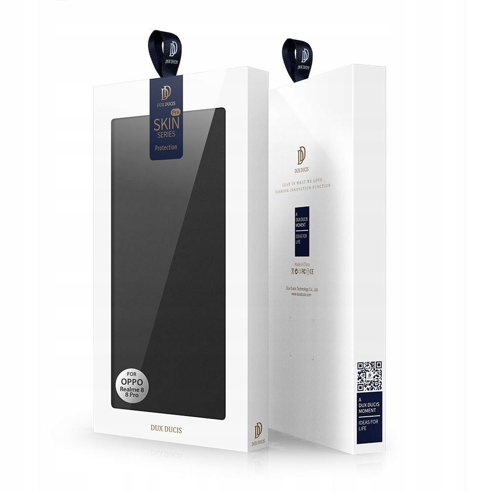 Etui DuxDucis Skinpro + Szkło do Realme 8 / 8 Pro Materiał skóra ekologiczna