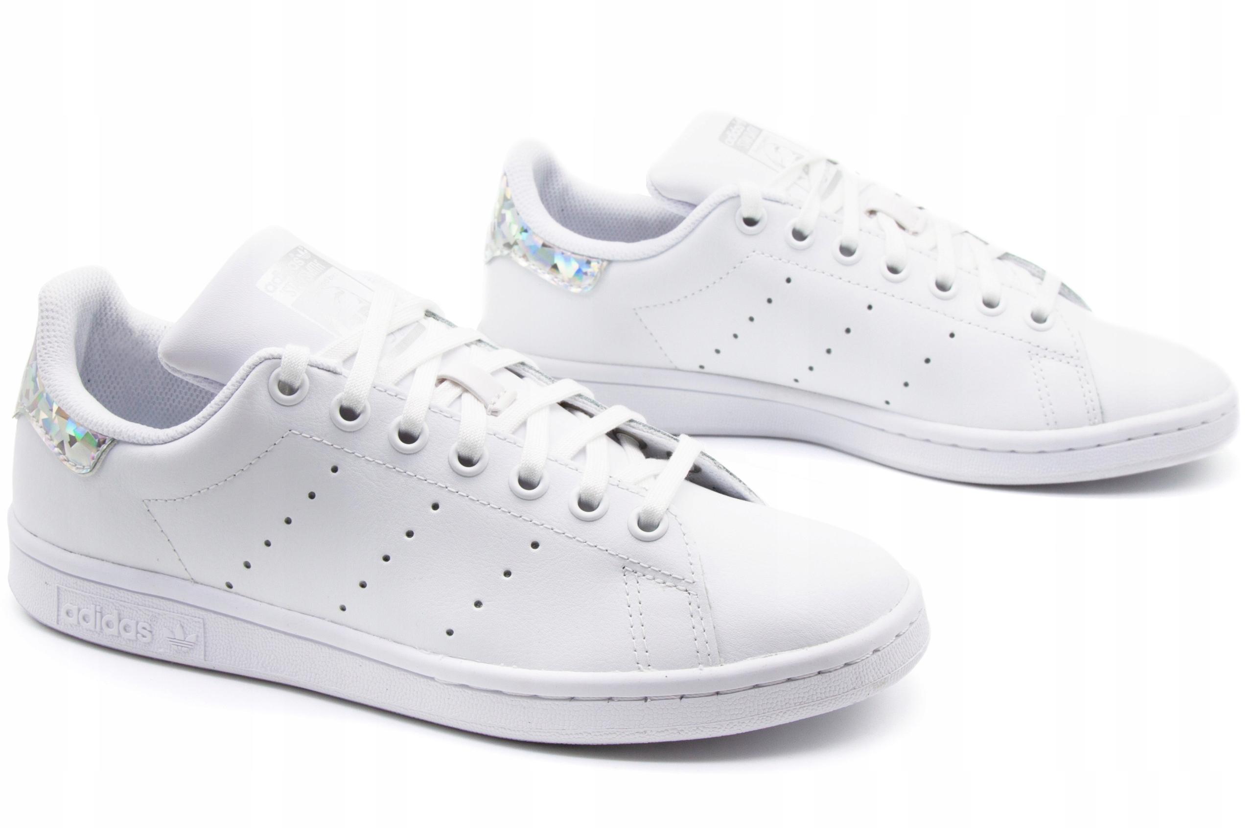 adidas Stan Smith J EE8483 białe, damskiemęskie, rozmiar