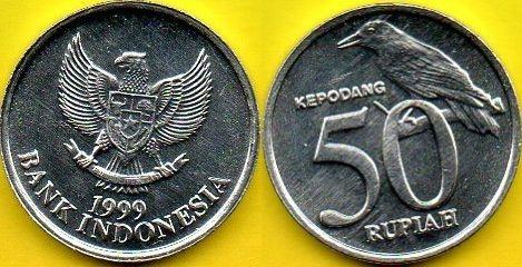 INDONEZJA 50 Rupiah 1999 r.