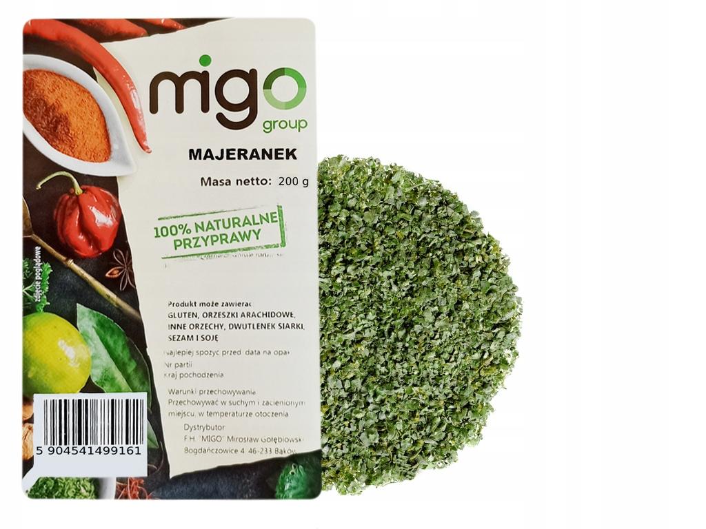 Сушеные листья майорана - 200 г - MIGOgroup