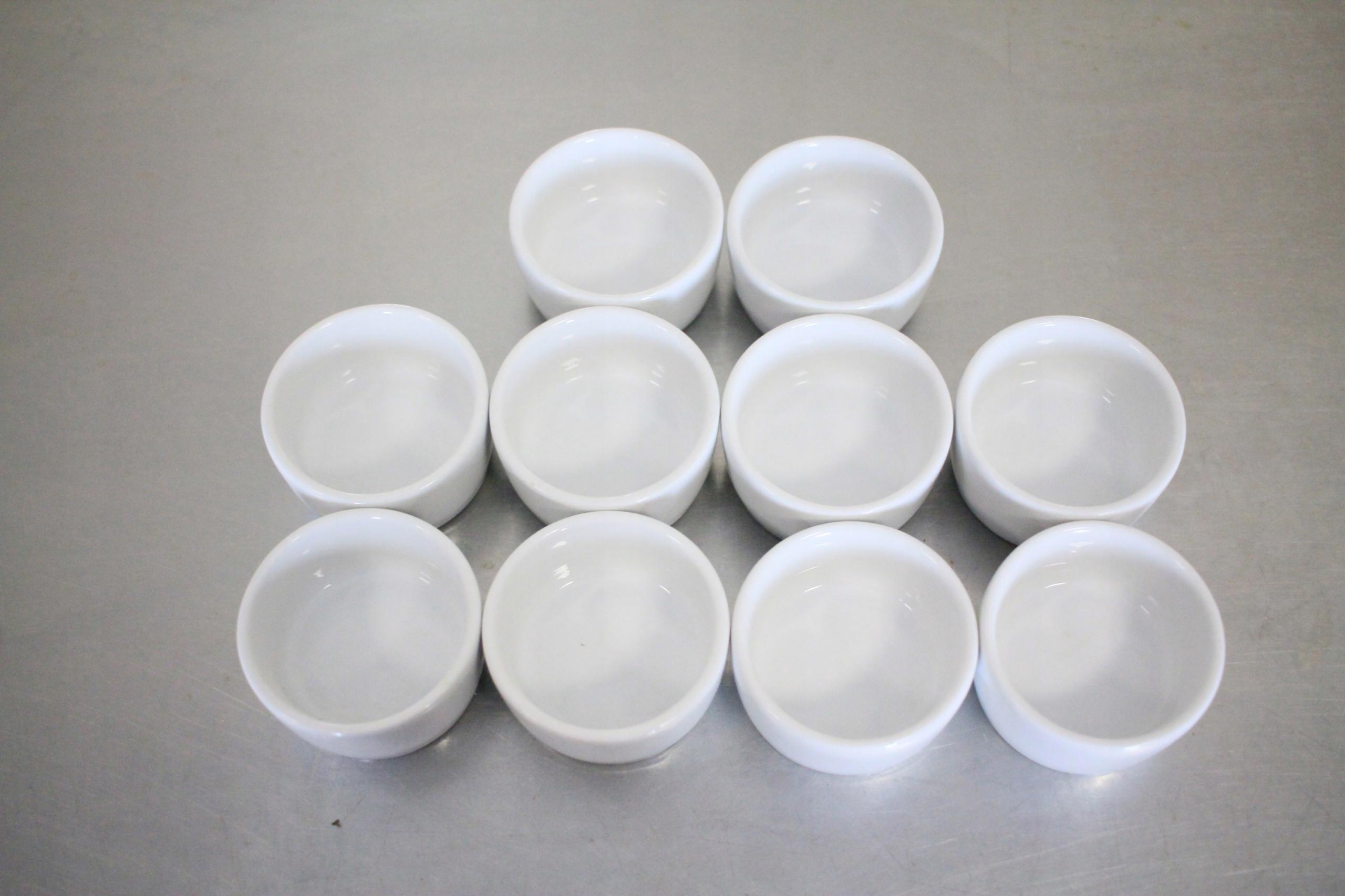 Sosjerki porcelanowe Lubiana - 10 sztuk