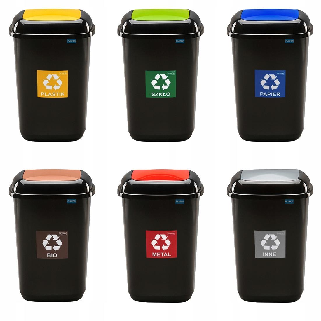 Pojemnik do segragacji odpadów kosz na śmieci 12l