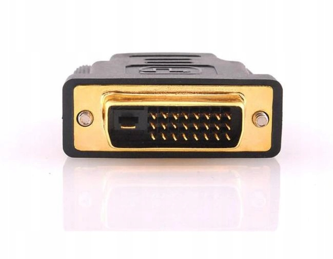 ADAPTER DVI til HDMI ADAPTER FullHD GOLD Modell marec #258