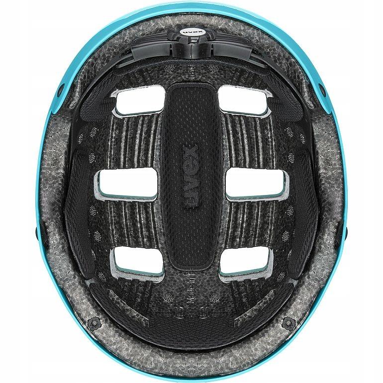 Kask rowerowy na hulajnogę Uvex Kid 3 51-55 cm nie Kolor niebieski
