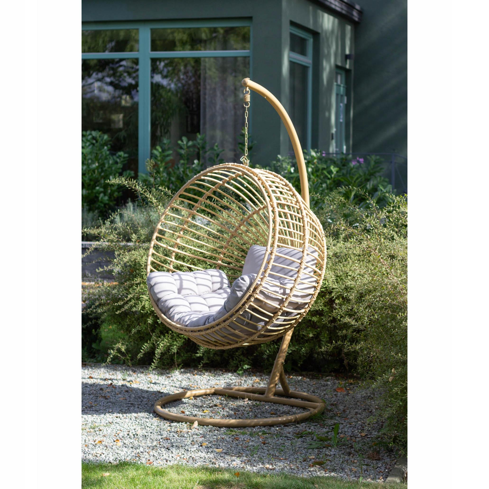 Závesná záhradná stolička STELLA kokon Kód produktu MV-1710-STELLA