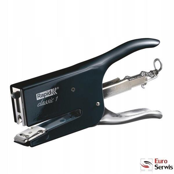 Nožnicová zošívačka RETRO CLASSIC K1 čierna magi 5000