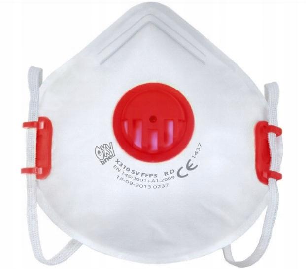 FFP3 Antivírusová maska Certifikovaná ochrana 99%