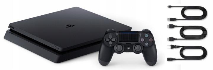 SONY PS4 PLAYSTATION 4 SLIM + PAD + ИГРЫ