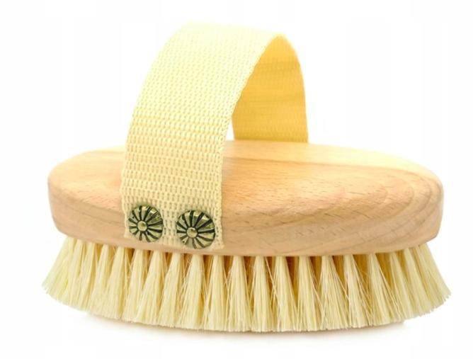 Zestaw szczotka masażu na sucho twarzy rąk tampico Kod producenta 5/010