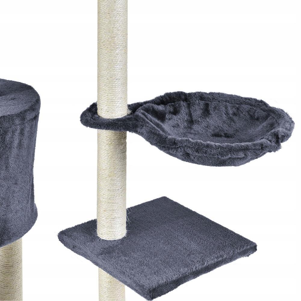 Drapak dla kota duży domek legowisko zabawa Rodzaj drapak wysoki legowisko słupek do drapania wieża