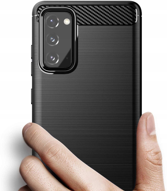 ETUI do Samsung Galaxy S20 FE KARBON CASE + SZKŁO Przeznaczenie Samsung