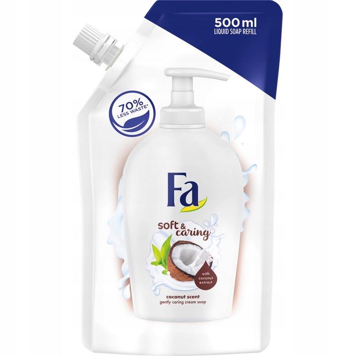 Купить Жидкое мыло Fa Nourishing Liquid Soap Coconut 500 x10 на Otpravka - цены и фото - доставка из Польши и стран Европы в Украину.