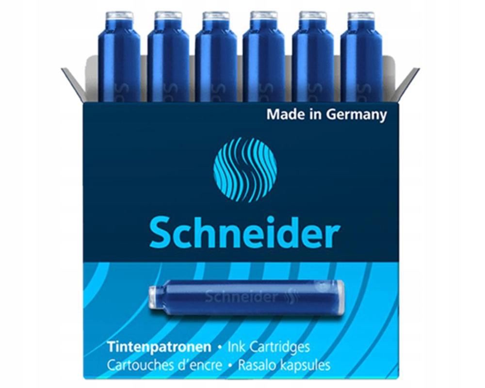 Schneider Feather Cartridges Modré 6ks