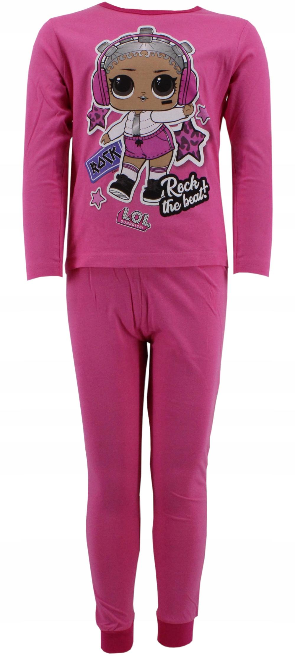 Bavlnené pyžamo LOL 146-152 ružové
