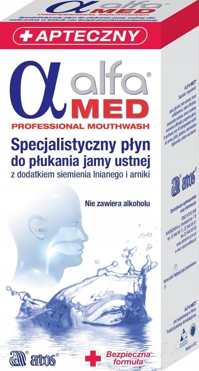 Ополаскиватель для полости рта ALFA MED PROFESSIONAL 200ML