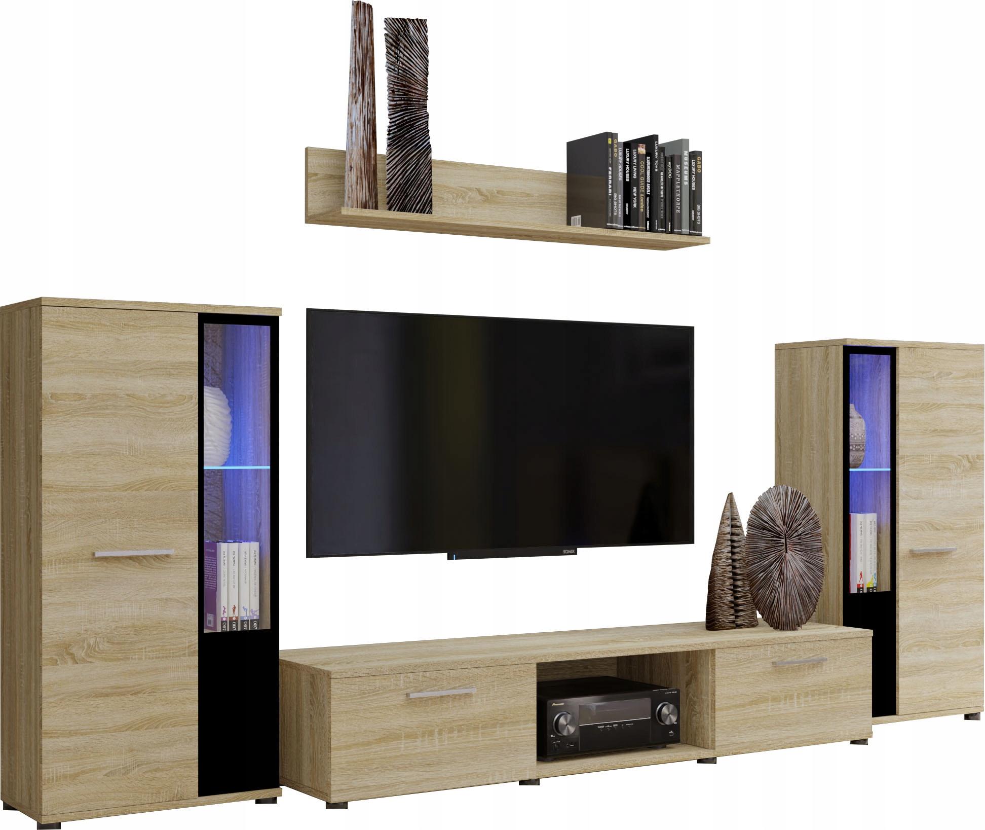 Секция CUBE Oak Sonoma мебель для гостиной