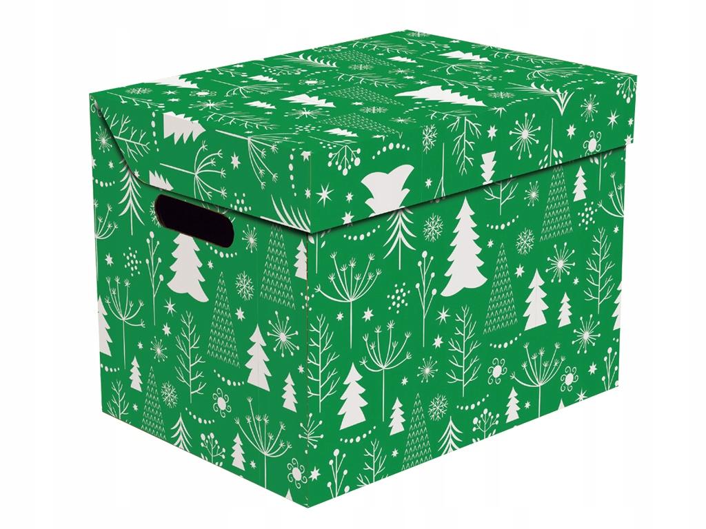 Коробка подарочной упаковки рождественской елки с