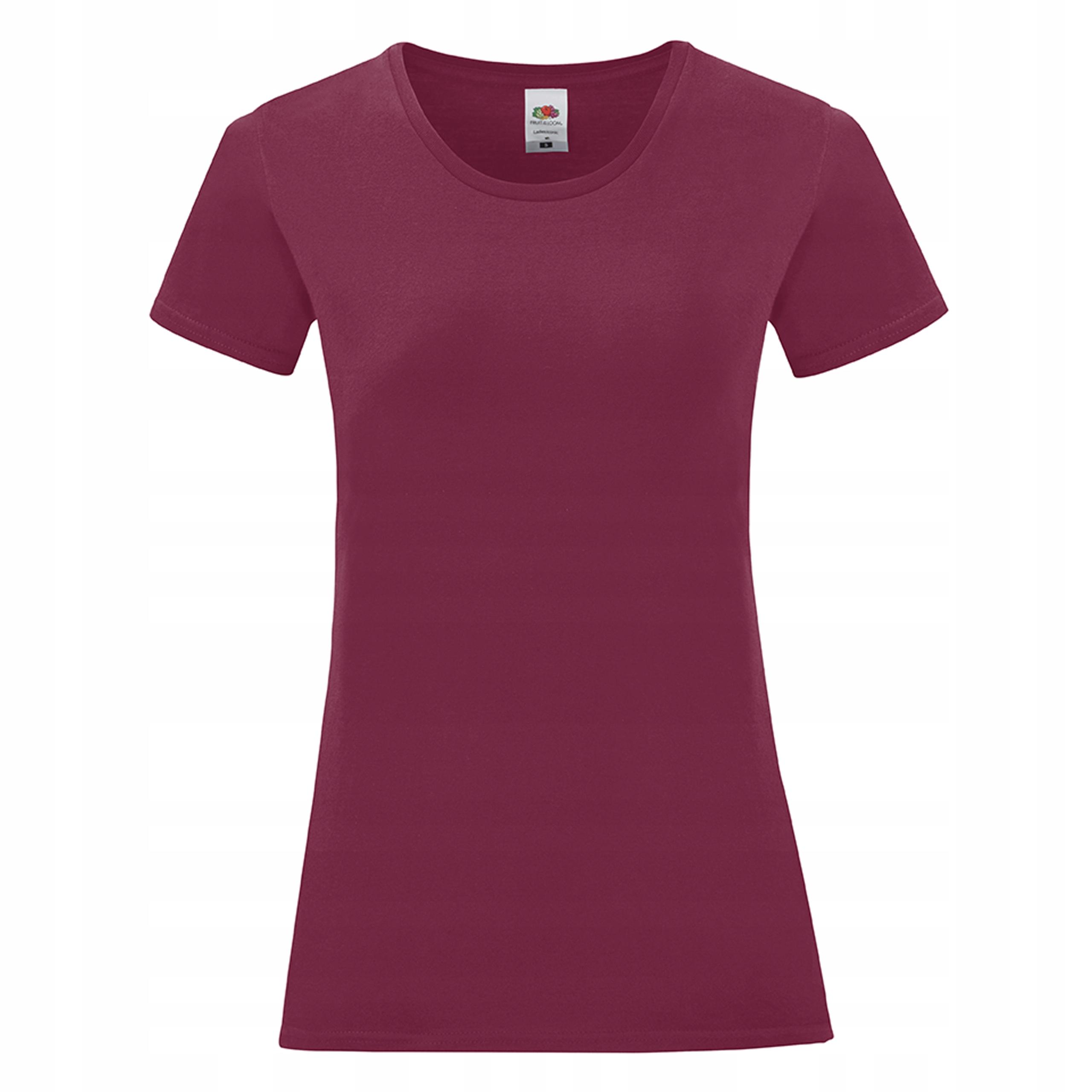 Damska koszulka t-shirt Iconic Fruit burgundy S