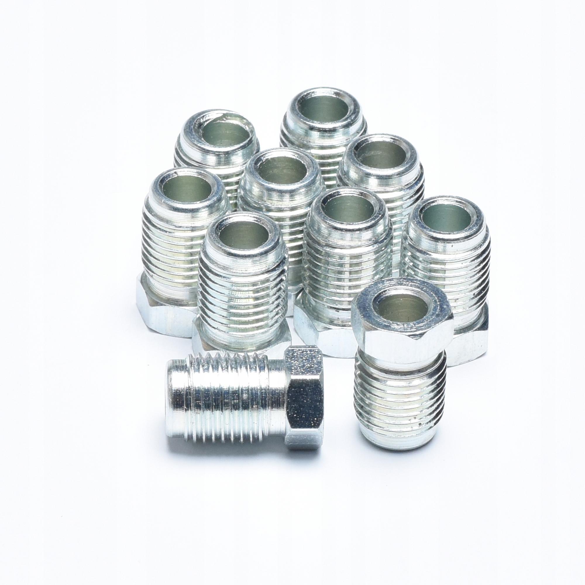 наконечники фитинги трубки провода ham m10x1 10 шт