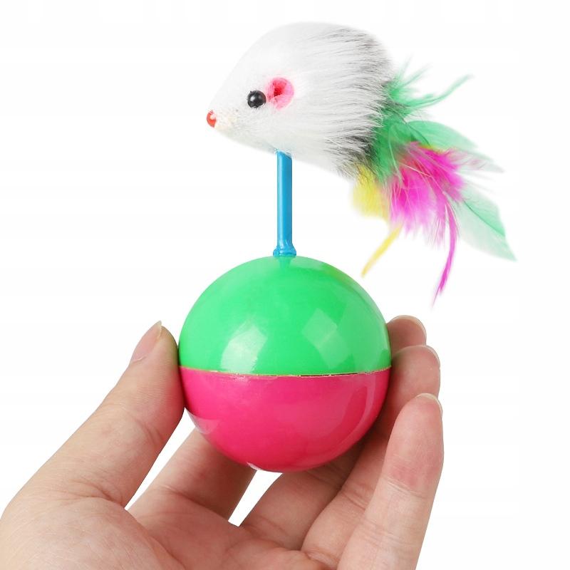 ZABAWKA DLA KOTA Mysz Piórka Piłka Wańka Wstańka Nazwa handlowa Zabawka dla Kota