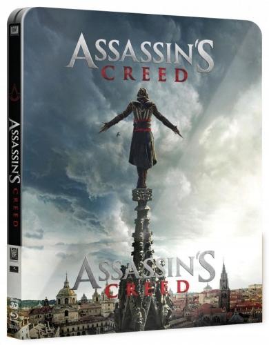 Item Assassin's Creed STEELBOOK 2x blu-ray 3D lektor PL