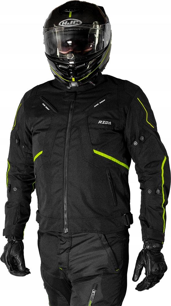 Куртка мотоциклетная текстильная meska туристическая, фото 1