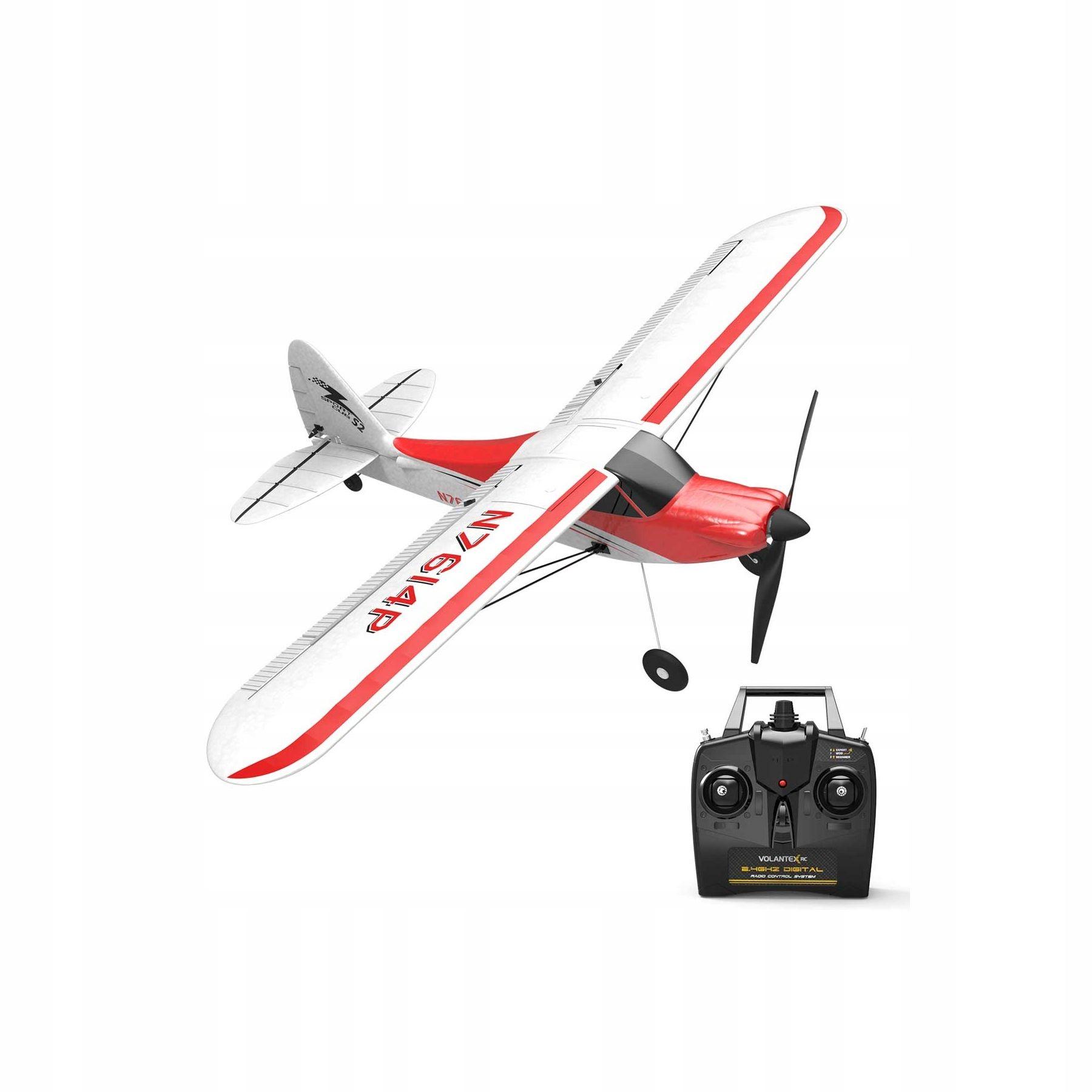 Volantex Sport Cub 500 Samolot 761-4 RTF żyroskop