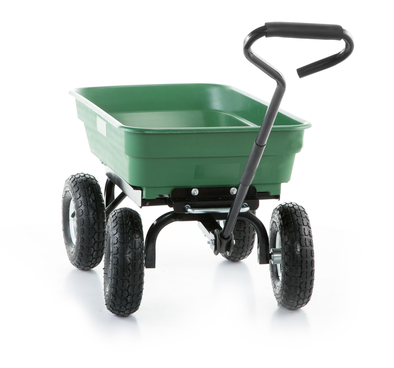Taczka wózek ogrodowy transportowy wywrotka 350kg Pojemność 75 l
