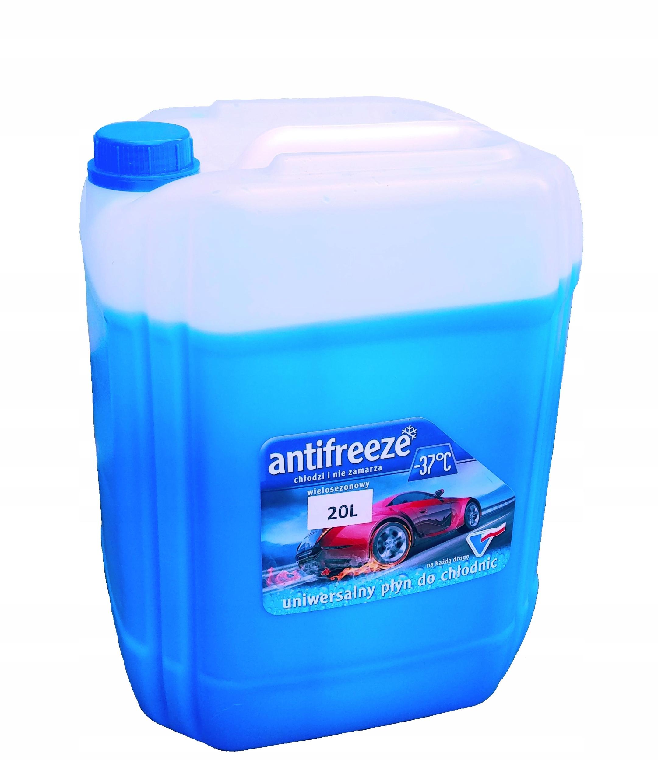 Антифриз охладитель жидкости -37C 20L. GLIKOL